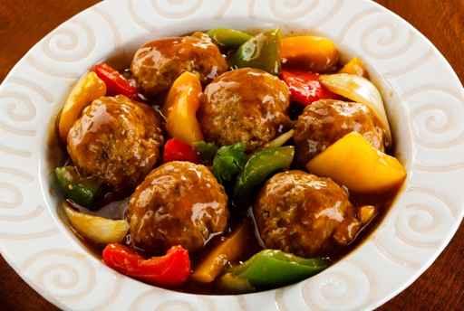 קציצות בשר ברוטב ירקות