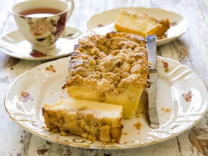 """עוגת חמאה עם פירורים – ה""""פיטר קיכן"""""""