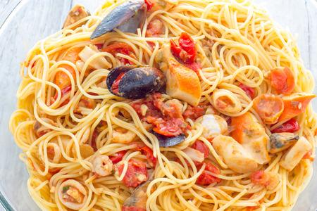 ספגטי פירות ים